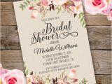 Party Invitation Template Adobe Bridal Shower Invitation Template Edit with Adobe Reader
