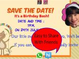 Party Invitation Template App Birthday Invitation with Photo android Apps On Google Play
