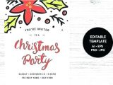 Party Invitation Template App Holiday Announcement Template