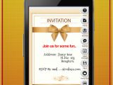 Party Invitation Template App Party Invitation Card Maker android Apps On Google Play
