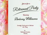Party Invitation Template .doc 30 Retirement Party Invitation Design Templates Psd