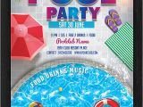 Party Invitation Template .doc 33 Printable Pool Party Invitations Psd Ai Eps Word