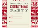 Party Invitation Template .doc Fillable Christmas Party Invitation Template Printable Pdf