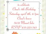 Party Invitation Template Editable 40th Birthday Ideas Birthday Party Invitation Templates