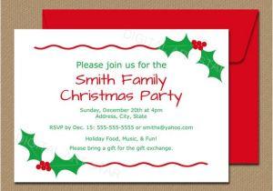 Party Invitation Template Editable Editable Christmas Party Invitation Christmas by