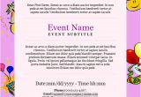 Party Invitation Template Email 23 Birthday Invitation Email Templates Psd Eps Ai