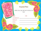 Party Invitation Template for Word 40th Birthday Ideas Birthday Invitation Templates for
