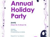 Party Invitation Template for Word Free Holiday Party Invitations 9 Templates In Pdf Word