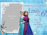 Party Invitation Template Frozen Elsa Frozen Birthday Party Invitation Ideas Bagvania