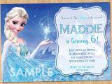 Party Invitation Template Frozen Frozen Birthday Invitation Elsa Frozen Invitation