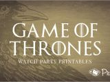 Party Invitation Template Game Of Thrones Free Printables for Your Game Of Thrones Watch Party