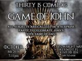 Party Invitation Template Game Of Thrones Game Of Thrones Invitation Digital Download Game Of Thrones