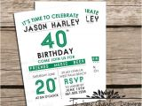 Party Invitation Template Indesign 40th Birthday Ideas Birthday Invitation Templates Indesign