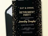 Party Invitation Template Indesign Free 21 Retirement Invitation Designs Examples In
