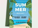 Party Invitation Template Indesign Free Summer Picnic Party Invitation Template Download 651