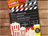 Party Invitation Template Mac Movie Party Invitation Movie Ticket Invitation Instant