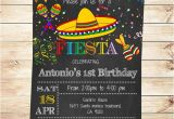 Party Invitation Template Mexican Birthday Mexican Fiesta Party Invitations Printable