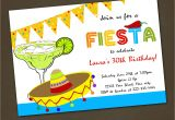 Party Invitation Template Mexican Mexican Fiesta Birthday Party Invitations You by