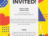 Party Invitation Template Online 15 Email Invitation Template Free Sample Example