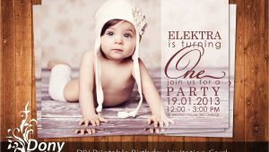 Party Invitation Template Photoshop Buy 1 Get 1 Free Photo Birthday Invitation Photocard Photoshop