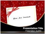 Party Invitation Template Powerpoint Invitation Powerpoint Templates