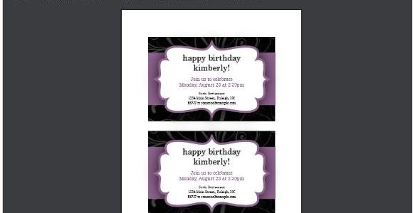 Party Invitation Template Ppt Party Invitation Templates for Powerpoint Online