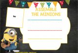 Party Invitation Template Printable Updated Bunch Of Minion Birthday Party Invitations Ideas