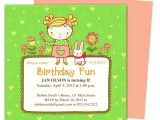 Party Invitation Template Publisher Abby Kids Birthday Party Invitation Templates Perfect for