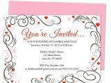 Party Invitation Template Publisher Pin On 25th 50th Wedding Anniversary Invitations Templates