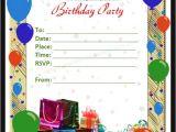 Party Invitation Template Word Free 63 Printable Birthday Invitation Templates In Pdf