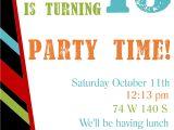 Party Invitation Template Word Free Printable Birthday Invitation Templates