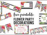 Party Invitation Template Worksheet Floral Borders Invitations Free Printable Invitation