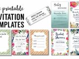 Party Invitation Template Worksheet Party Invitation Templates Free Printables Paper Trail