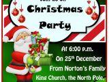 Party Invitation Templates Free Microsoft 15 Free Christmas Party Invitation Templates Ms Office