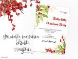 Party Invitation Templates Free Microsoft Printable Christmas Party Invitation Template Christmas