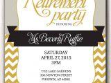 Party Invitation Templates Free Microsoft Retirement Party Invitation Template Microsoft