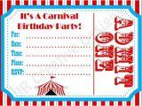 Party Invitation Templates Google Free Carnival Birthday Invitations Template Google