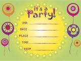 Party Invitation Templates In Afrikaans Birthday Invitation Templates Birthday Invitation