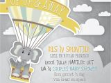 Party Invitation Templates In Afrikaans Up Up and Away Baby Shower Invitation Baby Shower