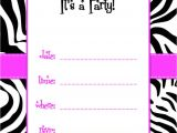 Party Invitation Templates with Photos Party Invitation Templates Best Template Collection