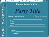 Party Invitation Templates Word Free Free Party Invitation Template Download Page Word Excel Pdf