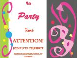 Party Invitation Templates Word Party Invitation Template Invite Your Friends In Style