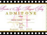 Party Invitation Ticket Template Free Templates for Birthday Invitations Drevio