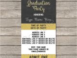 Party Invitation Ticket Template Graduation Party Ticket Invitations Template Class Of 2017