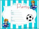 Party Invite Template Boy Free Printable Birthday Invitations Random Talks