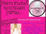Passion Party Invitations Free Passion Party Invites Cimvitation