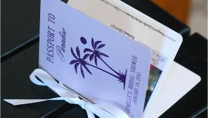 Passport Bridal Shower Invitations Brittany Lauren Design Recent Work Passport Bridal