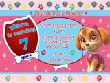 Paw Patrol Birthday Invitations Free Free Printable Paw Patrol Birthday Invitation Ideas Free