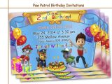 Paw Patrol Birthday Invitations Free Printable Amazing Paw Patrol Birthday Invitations by