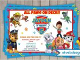 Paw Patrol Birthday Invitations Free Printable Paw Patrol Birthday Invitations Nick Jr Custom Invites